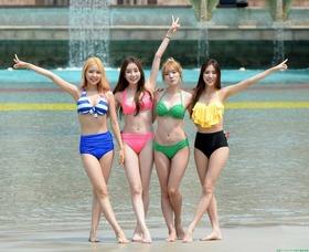 K-POPアイドル,STELLAR(ステラ)水着ビキニグラビア「72枚」