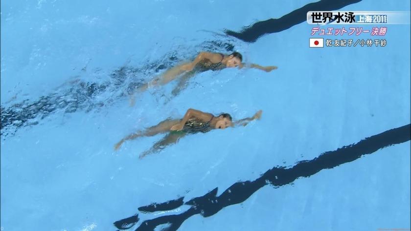 2011世界水泳シンクロデュエットフリー決勝56