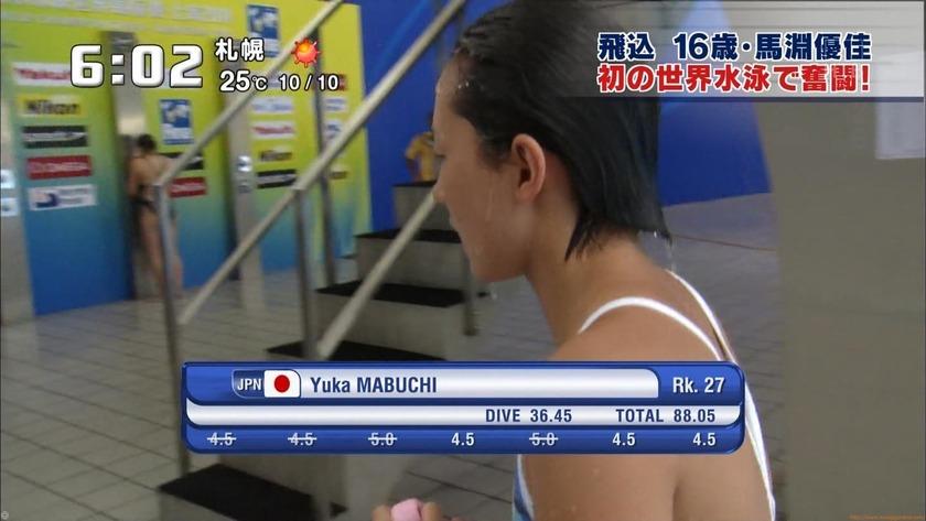 2011世界水泳 女子飛板飛込3M予選・準決勝12