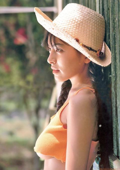 寺尾友美 懐かしの水着ビキニ画像「57枚」