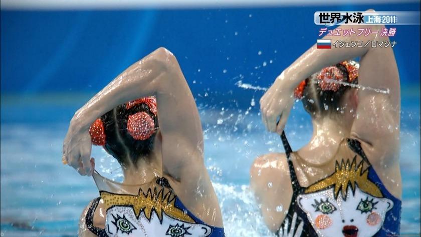 2011世界水泳シンクロデュエットフリー決勝20