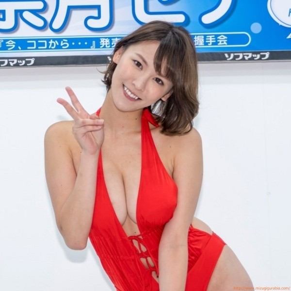 DVD発売記念イベント 奈月セナ(21)水着画像「17枚」