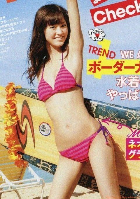 女優モデル 桐谷美玲 水着ビキニ画像「28枚」