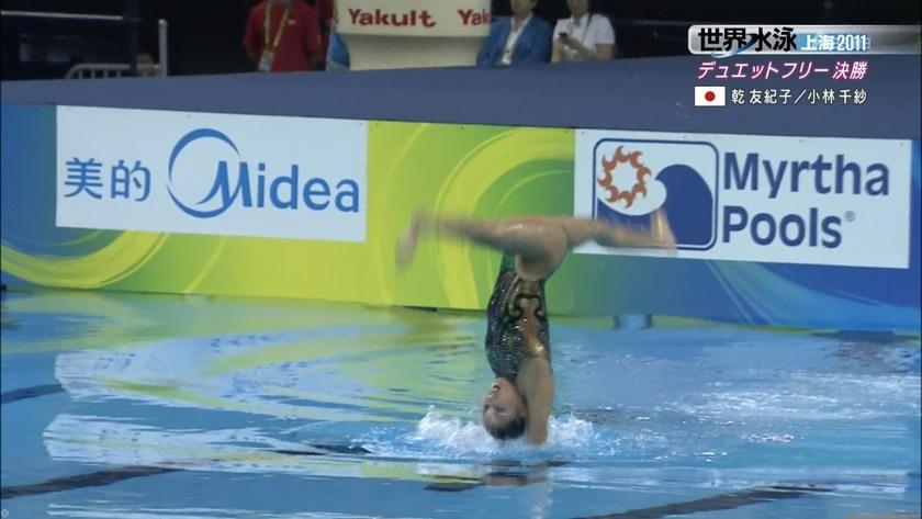 2011世界水泳シンクロデュエットフリー決勝51