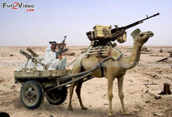 one-man-army-camel-gun-funny
