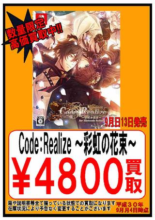 【13日】Code:Realize ~彩虹の花束~ Switch [switch]