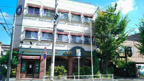 上飯田の洋菓子とコーヒーの名店で贅沢モーニング/CAFÉ TANAKA 本店