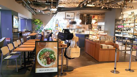 【新店】星ヶ丘三越にシックでハイセンスなお洒落カフェがオープン/DEAN & DELUCA CAFE 星ヶ丘店