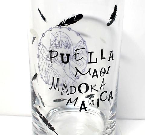 悪魔ほむらグラス なかなかオシャレなグラスです(。-ェ-)ピュエラ・マギはラテン語で魔法少...