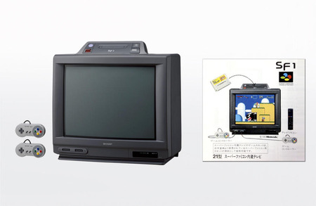 スーファミ テレビ 一体型