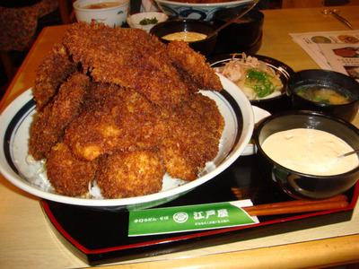 デカ盛りタルタルソースカツ丼