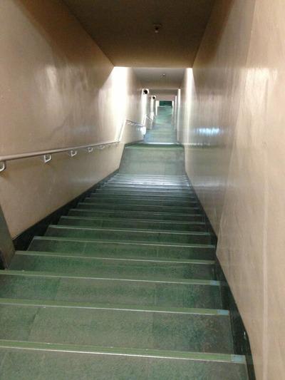 西武ドーム階段