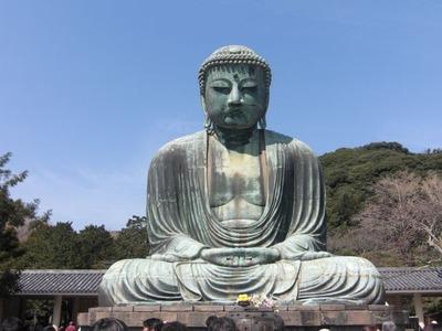(一)銅造阿弥陀如来坐像 (鎌倉大仏殿高徳院)