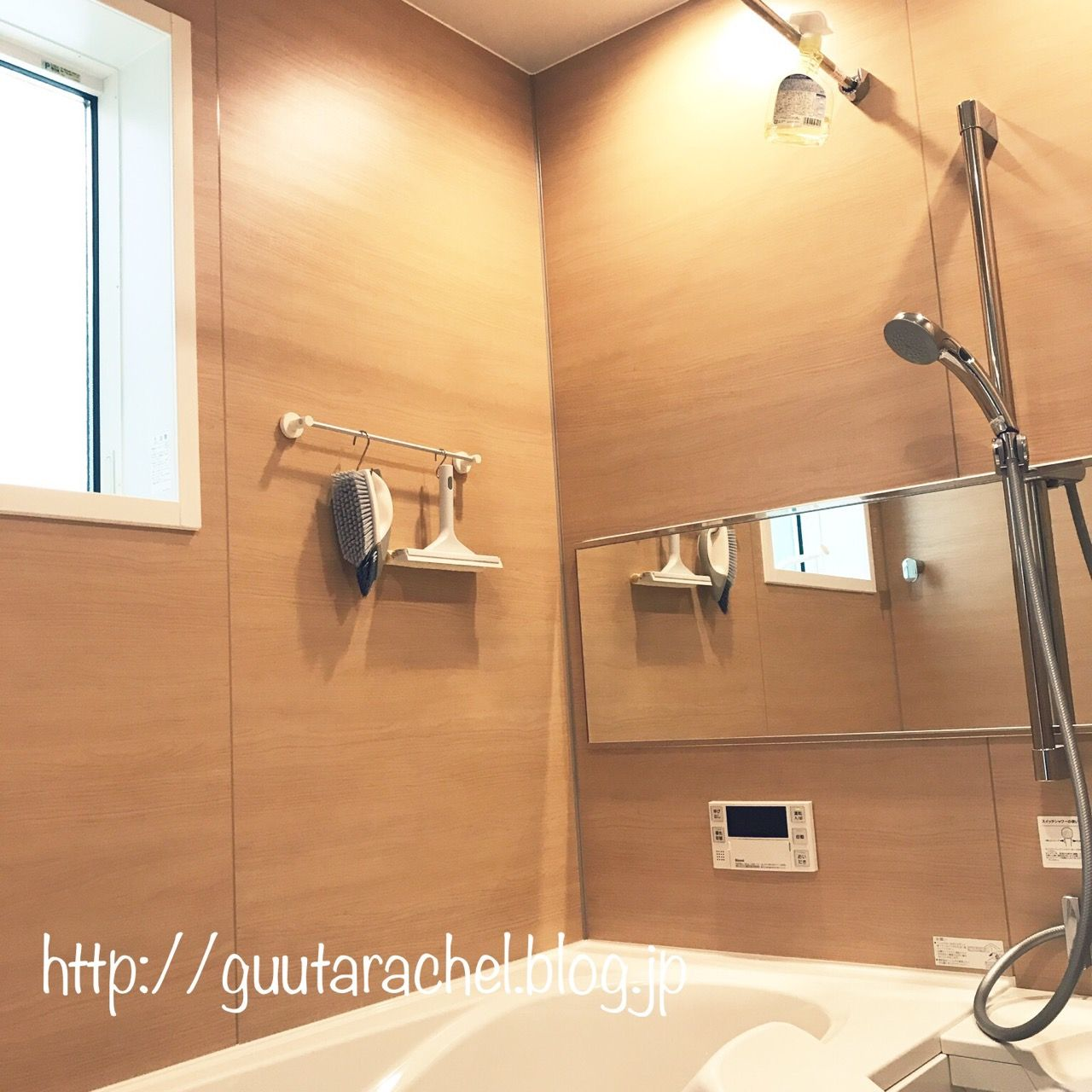 今はシャワーだけなので、子どものオモチャやお風呂の蓋は別の場所で保管しています。