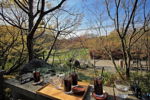 京都嵐山さがの楓カフェ
