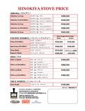 PE価格表 2015NEW
