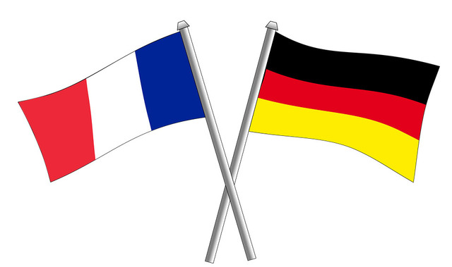 france-germany flag