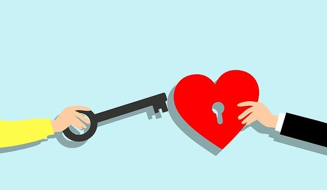 love-heart-key-woman-man