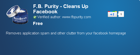 Chromeエクステンション/ Purity - Cleans Up Facebook - Chrome Web Store