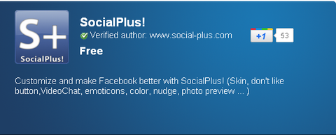SocialPlus! - Chrome Web Store