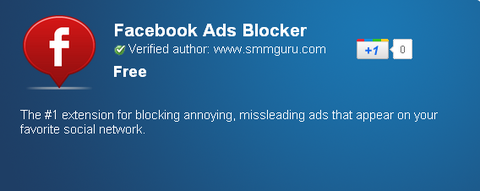 Facebook Ads Blocker - Chrome Web Store