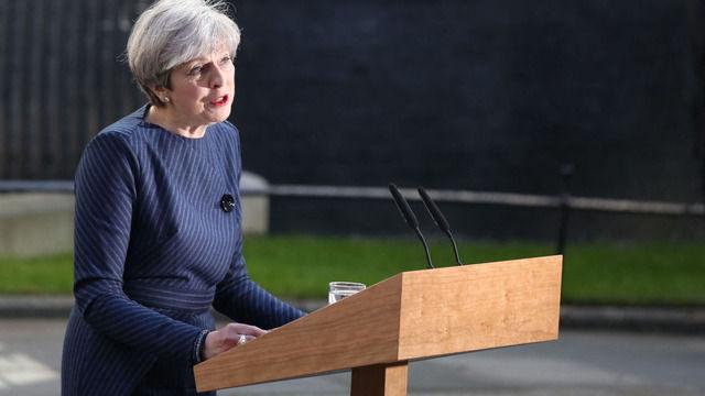 英メイ首相「EU離脱交渉で信を問うため」総選挙を6月に実施する意向【海外の反応】