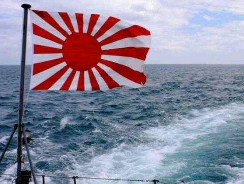 中国人「日本には旭日旗の正当化を試みる動きがある」