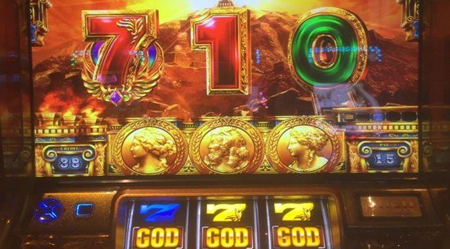 【ミリオンゴッド 神々の凱旋】閉店間際にストックあった場合ペナって32G回せ ← 無能wwwww