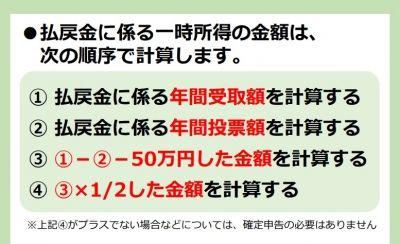 【競馬】 国税庁に競馬等、公営競技の確定申告用ページが登場