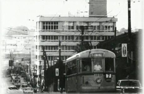 昭和40年頃の商店街付近