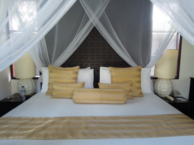ントーサプライベートヴィラ寝室