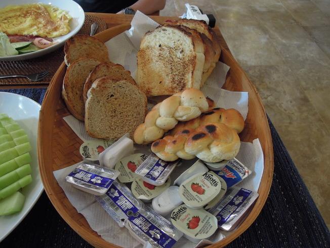 アジャンタヴィラ朝食