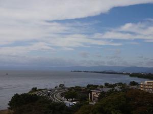 天守閣(展望台)より琵琶湖