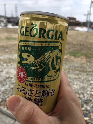 福井県が出て来た〜向こうに雪が残っている