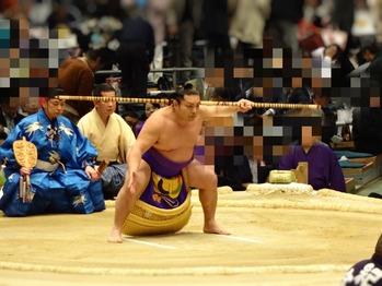 弓取り式の時に皆いっせいに立ち上がって帰るから見えなくて困った〜
