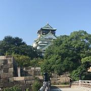 暑い大阪城