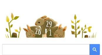 Googleも閏年を意識