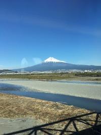 11月25日新幹線車窓より
