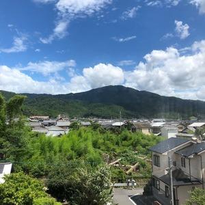 新オフィスは比叡山ビュー