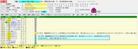 2020 3.1中山12Rルマーカーブル