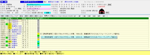 2020 5.10京都12Rホウオウライジンtarget