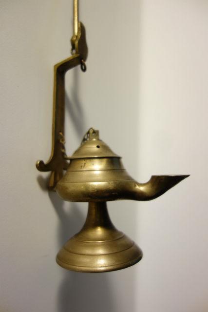 真鍮オイルランプ2 (3)