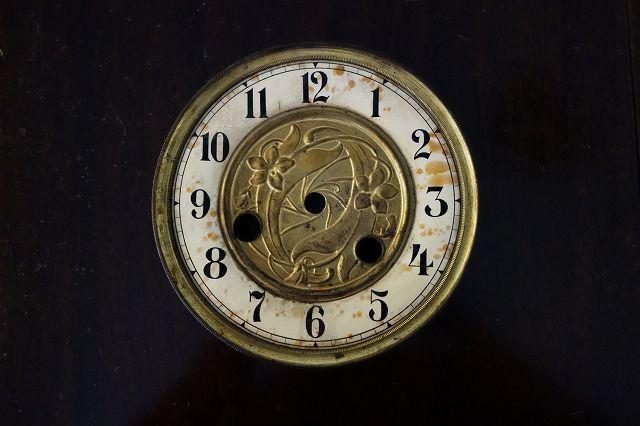 メタル台の時計文字盤2 (1)