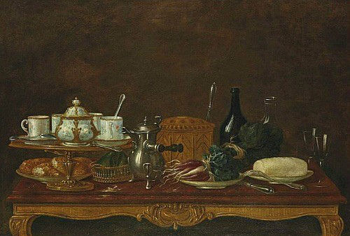 Still Life with Chocolate Pot
