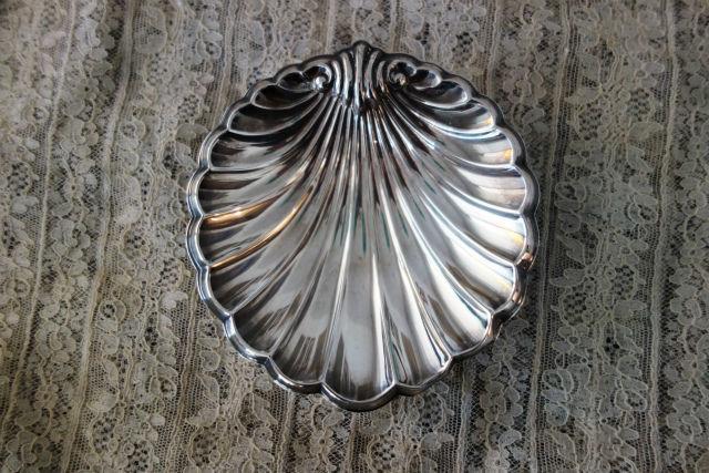 シルバー貝のプレート137 (3)