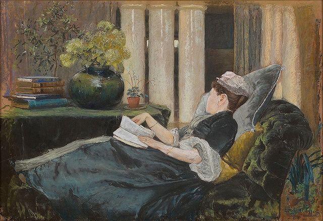 Madame Helleu a Fladbury chez John Singer Sargent (1889
