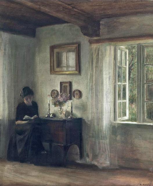 Carl Vilhelm Holsoe Danish1863-1935