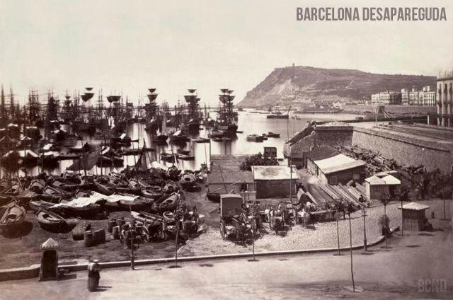 bcn muralla del mar 1860