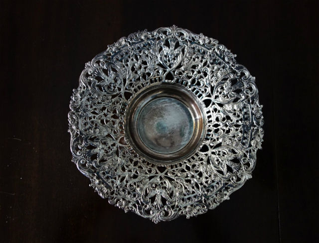 sp透かし彫りレリーフ縁のフルーツボウル17 (1)