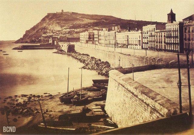 muralla del Mar 1860